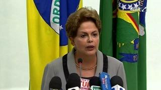 """Dilma Rousseff presentó al nuevo gabinete y pidió a sus ministros que """"hagan más con menos recursos"""""""