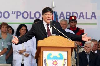 """Zannini: """"Mi vínculo con Scioli está construido desde lo político"""""""