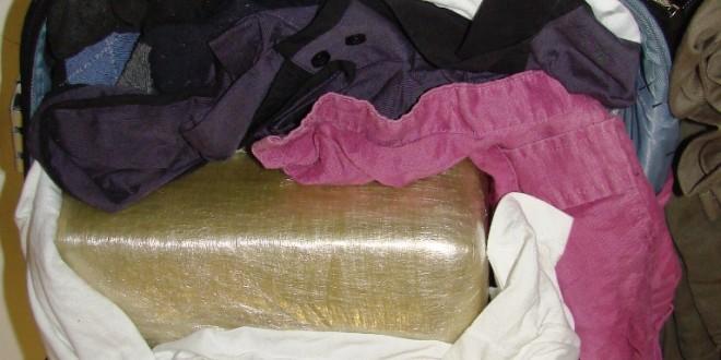 AFIP detectó 4,7 kilos de cocaína en Ezeiza