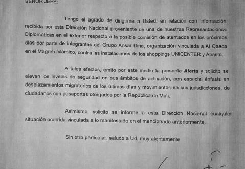 Amenaza terrorista contra dos shoppings en Buenos Aires