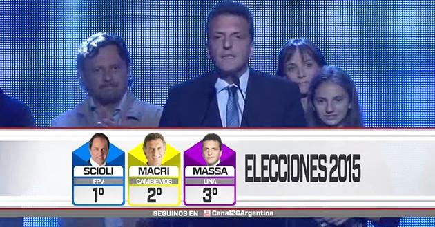 """Massa: """"Hoy comienza una nueva etapa en la Argentina"""""""
