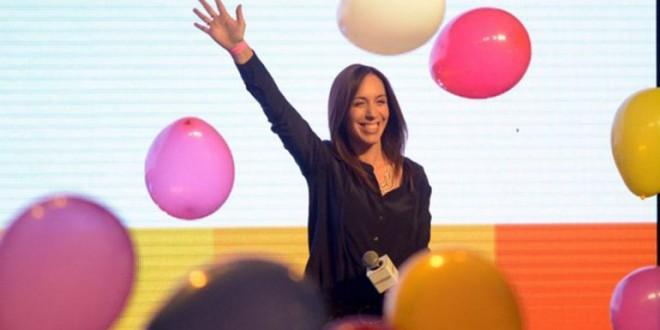 María Eugenia Vidal gana en provincia de Buenos Aires