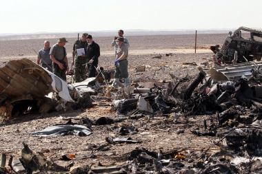 Concluye la búsqueda de los restos del avión ruso caído en Egipto