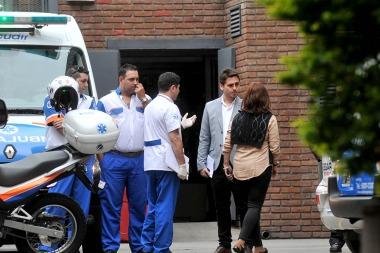 Matías Alé internado en una clínica psiquiátrica