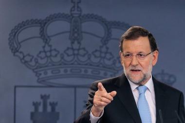 Rajoy impugnó la declaración secesionista de Cataluña y advirtió que no permitirá que se liquide la democracia