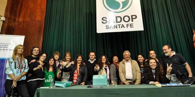 Derechos Humanos lanzó la Red Sindical de Derechos Humanos en Santa Fe