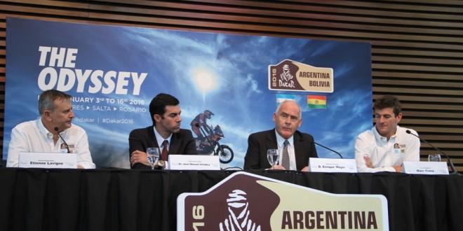 Lanzamiento del Dakar Argentina-Bolivia 2016