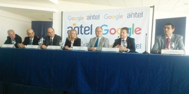 Antel firma alianza con Google para acceder a internet de forma directa