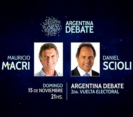 Argentina Debate 2015 EN VIVO
