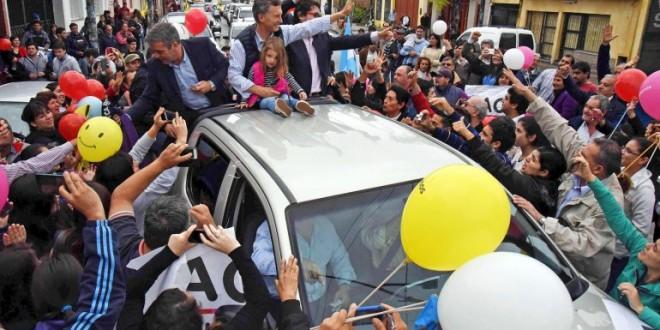 Macri prometió el 82% móvil y le envió un mensaje a Milagro Sala