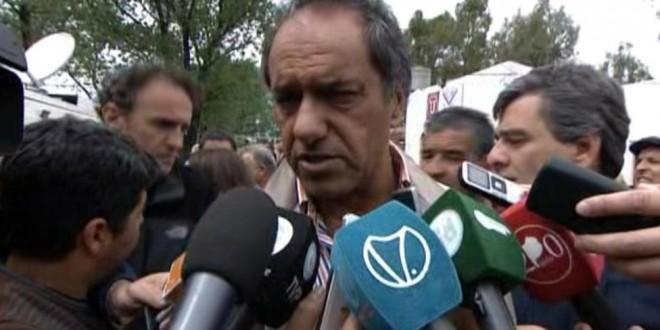 """Scioli: """"El Frente para la Victoria está más unido que nunca"""""""