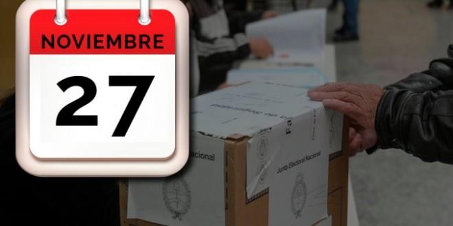 El feriado del 23 de noviembre pasó al 27 por el balotaje