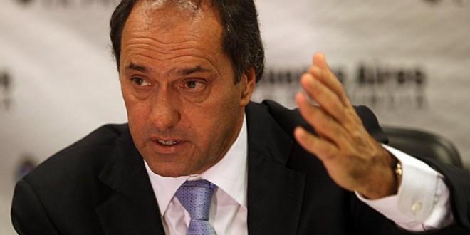 """Scioli le respondió a Aníbal Fernández: """"Ganó Vidal y le deseo lo mejor"""""""