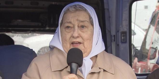 Hebe de Bonafini convocó a una marcha contra Macri el 10 de diciembre