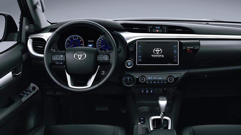 Nueva Toyota Hilux tablero
