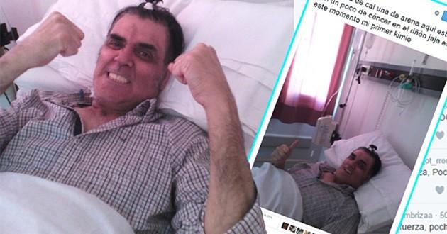 Pocho La Pantera tiene cáncer de riñón