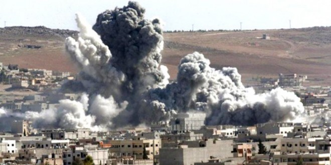 Rusia intensifica bombardeos contra el Estado Islámico (EI) en Siria