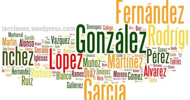Los 10 apellidos más populares de la Argentina