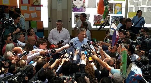 """Macri: """"Estoy feliz, es un día histórico"""""""