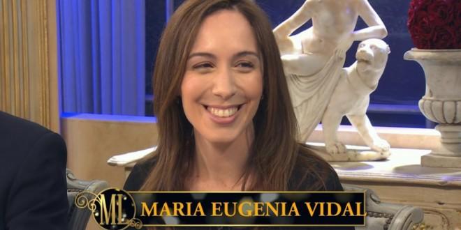 María Eugenia Vidal : La gente perdio el miedo
