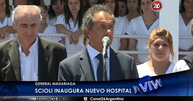 """Scioli inauguró UPA por vacaciones en """"paz y tranquilidad"""""""