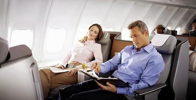 El mejor y el peor asiento para viajar en Avión