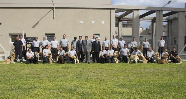 Escuela de canes de la AFIP