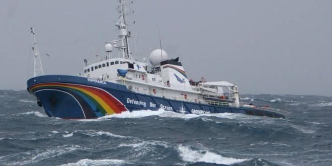 El barco más grande de Greenpeace llega a Argentina