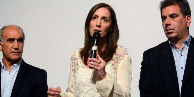 """María Eugenia Vidal: """"Le diría a Aníbal Fernández que en este caso se llame a silencio"""""""
