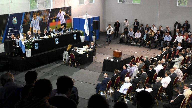 EN VIVO: la asamblea de la AFA donde se elige a su próximo presidente