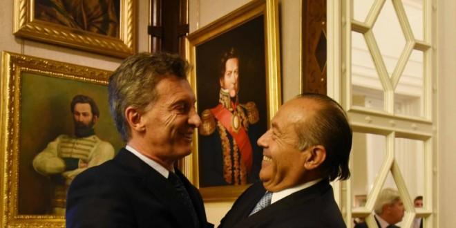Macri y Rodríguez Saá dialogaron sobre coparticipación