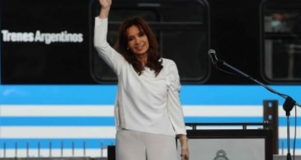 """Cristina Kirchner: """"Se está realizando la inversión ferroviaria más importante de los últimos 60 años"""""""