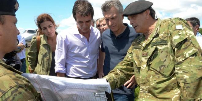 Macri garantizó aportes para los damnificados