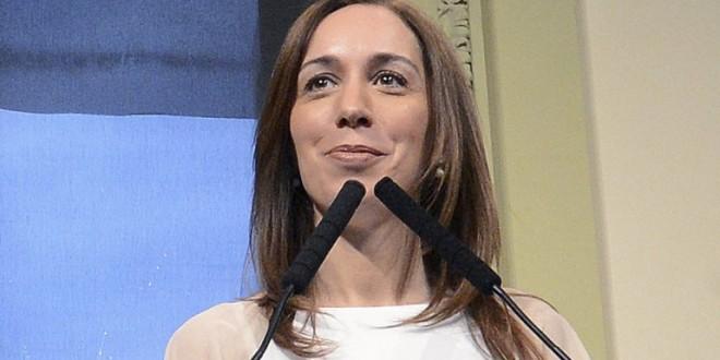 """María Eugenia Vidal: """"Ahora vamos a buscar a Pérez Corradi"""""""