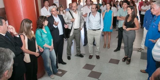 Autoridades de PAMI visitaron el Sanatorio Eva Duarte en Mar del Plata