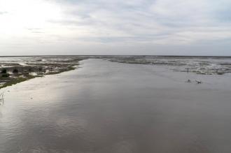 Baja el río Paraná en Entre Ríos pero siguen evacuadas 180 personas en Victoria