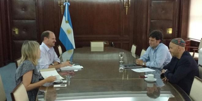 Sergio Bergman se reunió con el encargado del Area de Programas de FAO Argentina