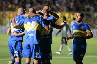 Angelici salió a bancar a Osvaldo y ve tibio el sumar un delantero para la Copa