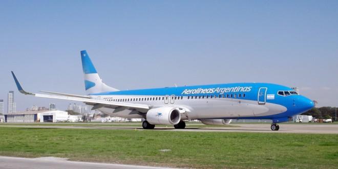 Aerolíneas suma un avión cero kilómetro a su flota