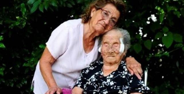 La persona más vieja del mundo es Argentina