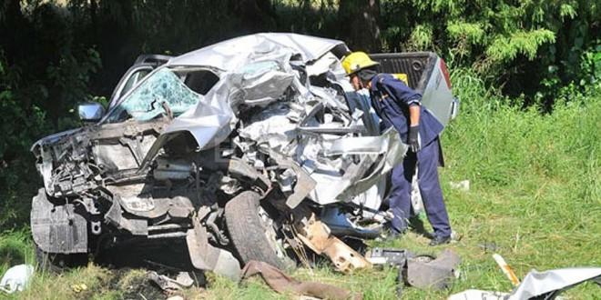 Cuatro integrantes de una familia argentina fallecieron en una ruta uruguaya