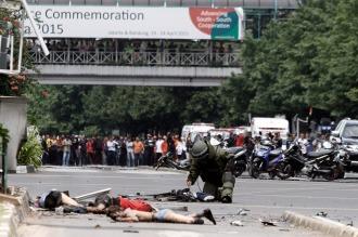 Detuvieron en Indonesia a 12 presuntos implicados en el ataque terrorista de Yakarta