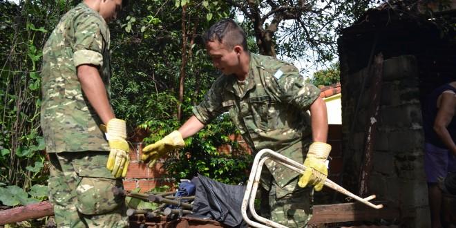 El Ejército colabora en la lucha contra el dengue en Misiones