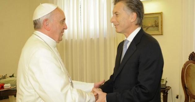 El Papa recibirá la visita oficial del presidente Macri en febrero