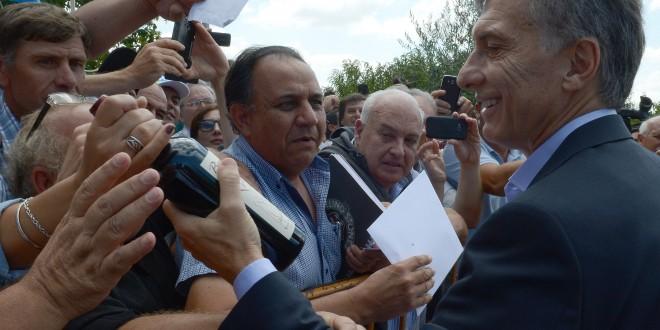 El presidente Macri anunció en Mendoza medidas de apoyo para los productores vitivinícolas