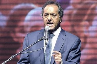 """""""El presidente del PJ se elegirá con la participación de los afiliados"""", dijo Scioli"""