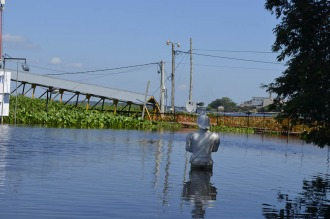 El río Paraguay baja lentamente en Formosa y todavía hay 5000 evacuados