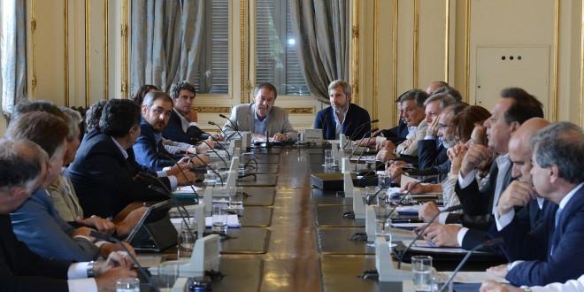 Frigerio preparó con Schiaretti la reunión de gabinete que mantendrá Macri en Córdoba