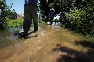 La crecida del río Paraná en Chaco seguirá hasta principios de otoño