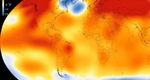 La temperatura del planeta en 2015 fue la más alta de los últimos 136 años